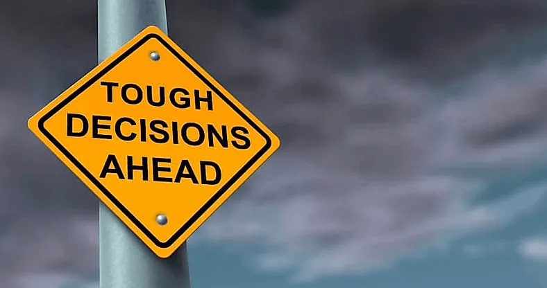Though Decisions: What Makes Or Breaks Your Life